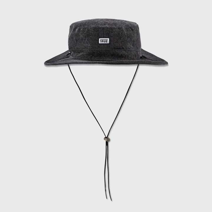 True Fisher Hat - Grey Denim - TRUE.