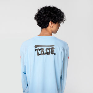 True Mushroom Long Sleeve - Blue (6135139598489)