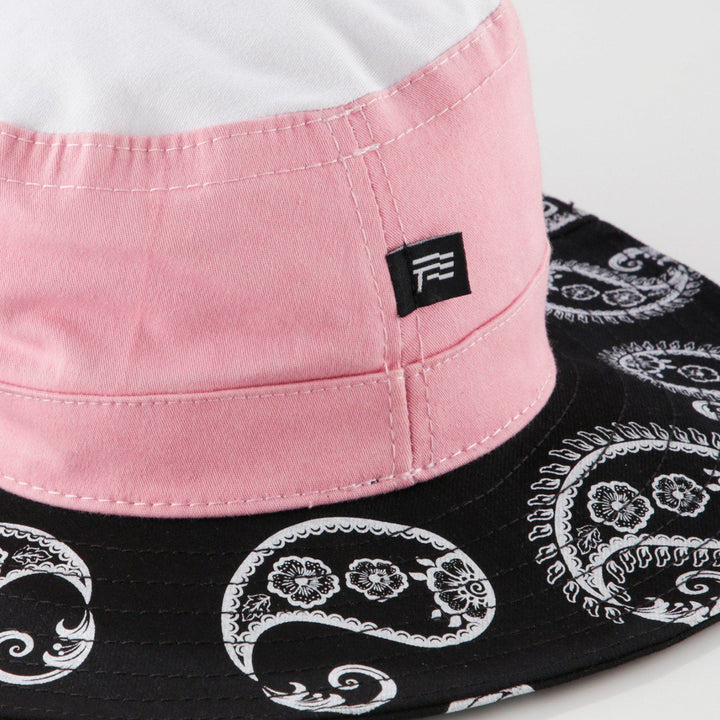 True Pink Paisley Fisher Hat (6135256711321)