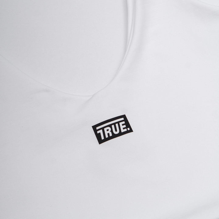 True Retro Top Box Logo - White