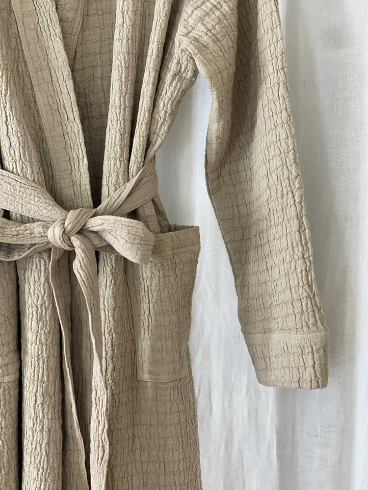 The Fall Cotton Robe
