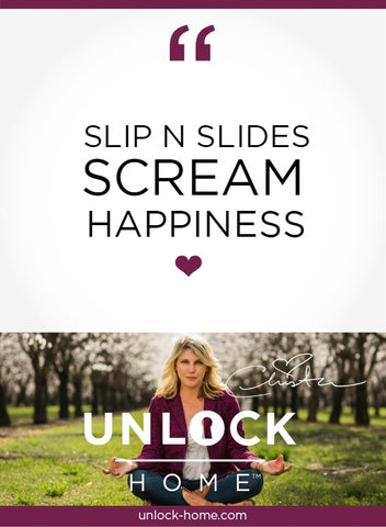 unlock-home-weekly-happy-thought-slip-n-slide