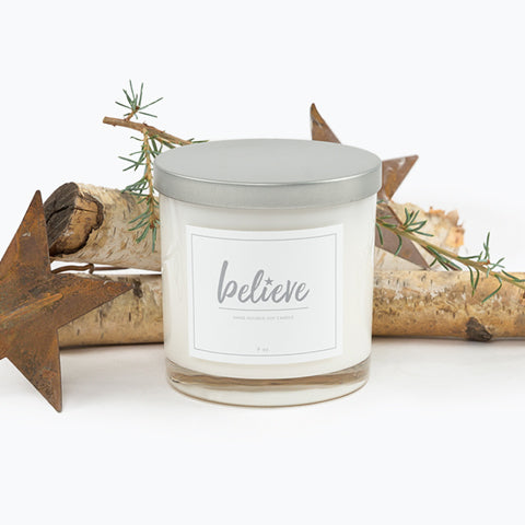 Believe Soy Candle