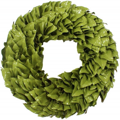 Key Lime Lacquer Wreath 18""