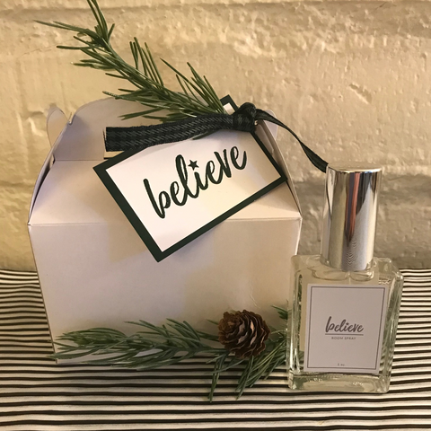 Believe Spray Holiday Box