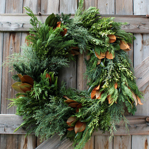Bunches Fresh Wreath
