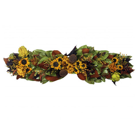 Golden Sunflower Centerpiece/Mantelpiece