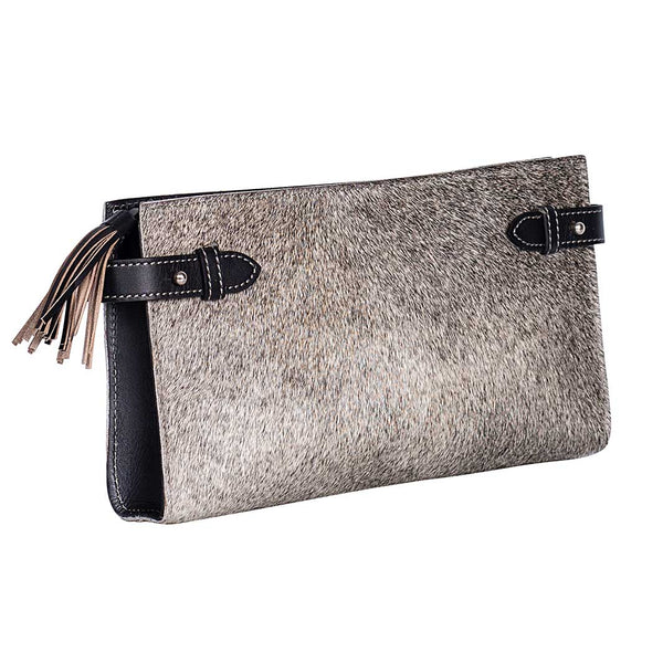 MIRADA CLUTCH - Grey/Black