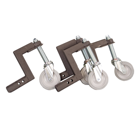 Set of 4 Casters and Bolts