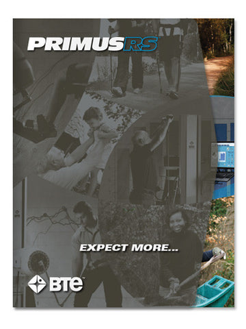PrimusRS Full Page Color Brochures