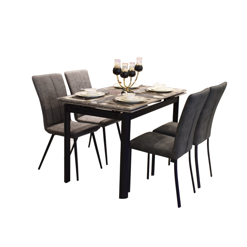 Cassia Marble Top Extendable Dining Table Maxi Home Furnishing Pte Ltd