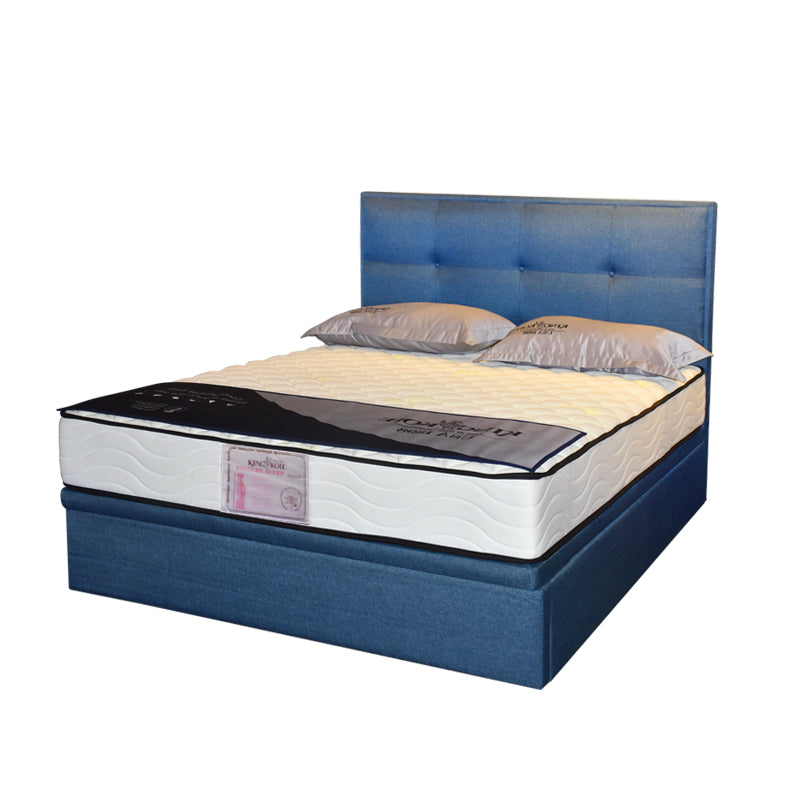 Melina Queen Size Storage Bed Frame Bedroom Furniture Maxi