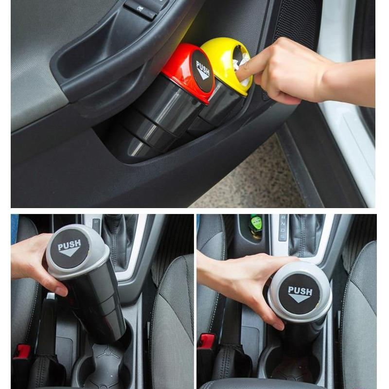 Mini recipiente para basura - PushTrash🚗 ADOMICILIO