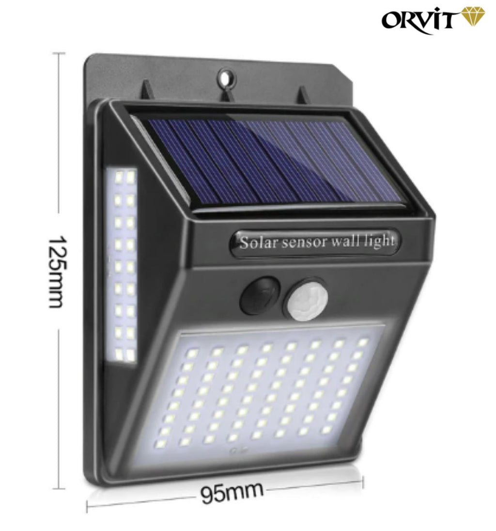"""SOLAR SENSOR WALL LIGHT"" ORVITLIGHTING™ 1 Piece Spain"