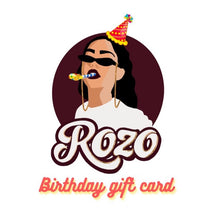 Load image into Gallery viewer, ROZO gift card