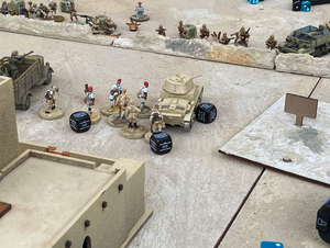 WESTERN SAHARA BATTLE BOARD (wallet friendly edition!)