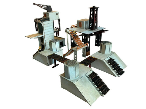 Facility Bundle Set - 28mm MDF Scenery for Warhammer/Tabletop