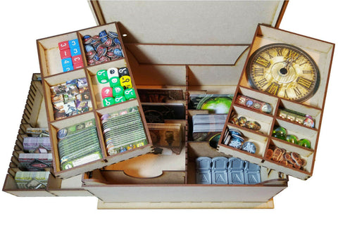 Elder Sign - Necronomicon Board Game Box Organiser