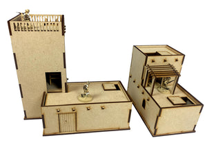 MDF Adobe Desert Building 'Set C'