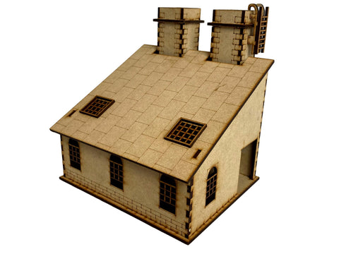"Factory/Smokestack ""C""  Building Set"