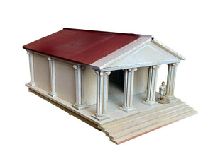 Ancient Roman Style Temple Building - MDF 28mm scale - Wargaming/Tabletop