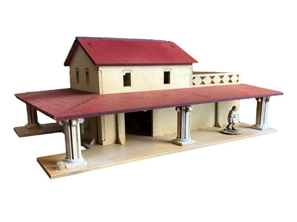 Ancient Roman Style Villa / Building - MDF 28mm scale - Wargaming/Tabletop