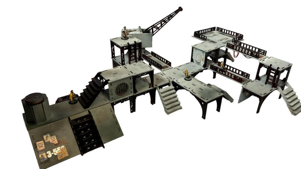28MM Scale Industrial Sector - Scenery / Terrain Sci-Fi