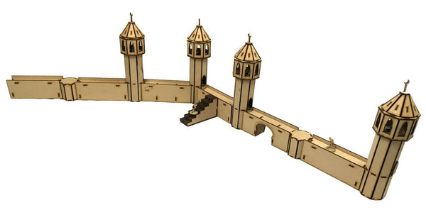 City Walls & Minarets Scenery