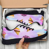 Ice Cream Womens Athletic Sneakers - STUDIO 11 COUTURE