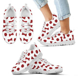 Snow White Apples And Bows Kids Sneakers