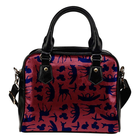 Snow White Wood Lands Creature Shoulder Handbag