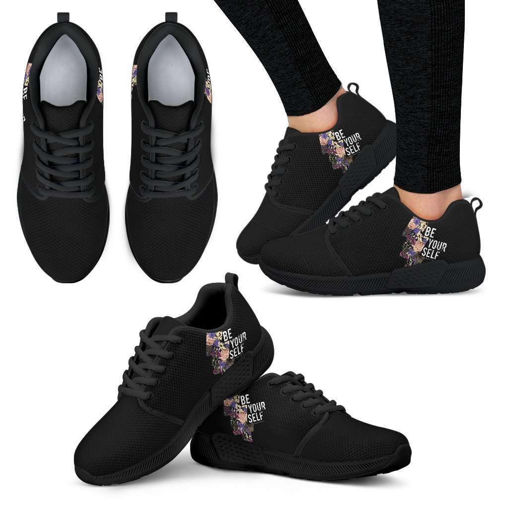 Be Yourself Womens Athletic Sneakers