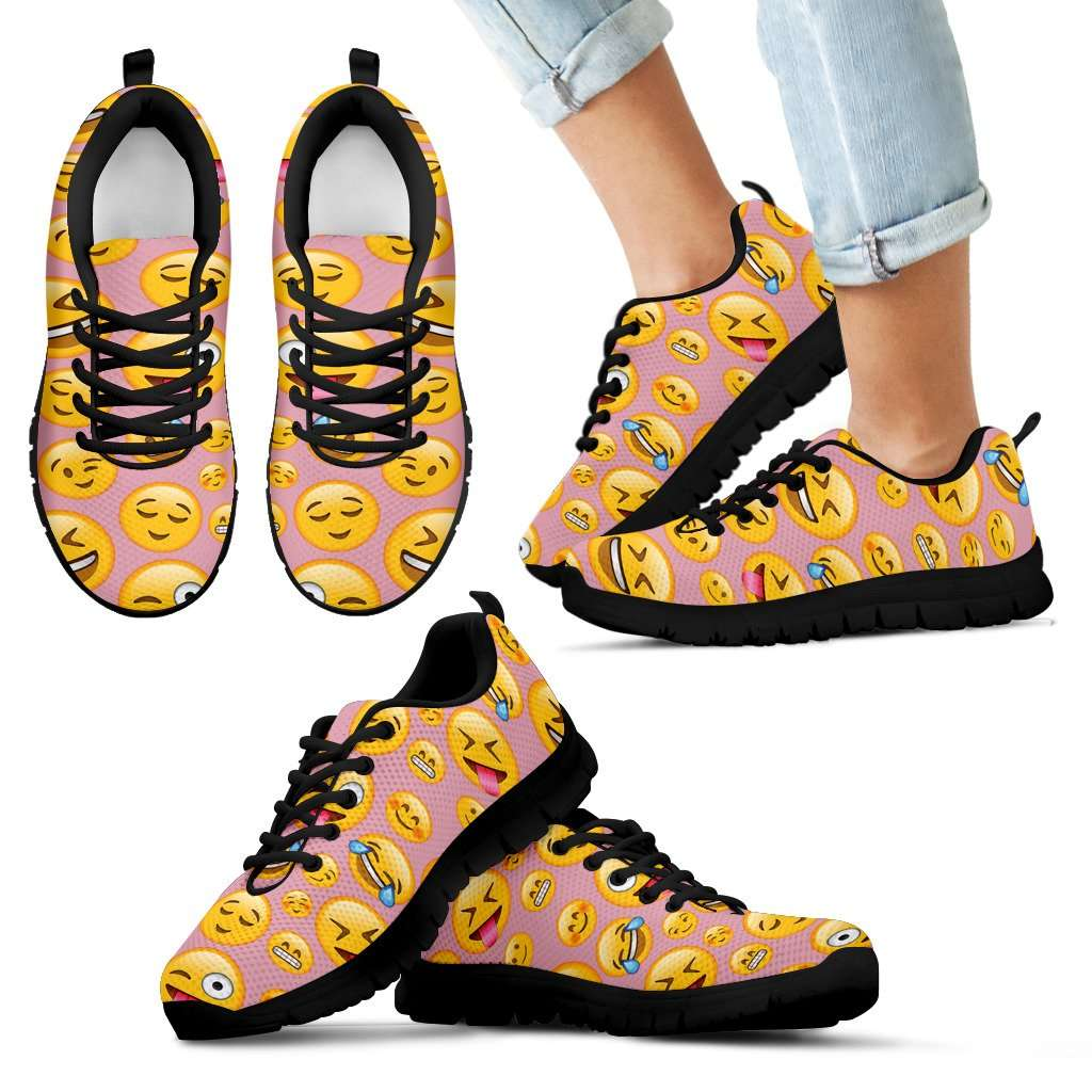 Emoji Happy Kids Sneakers