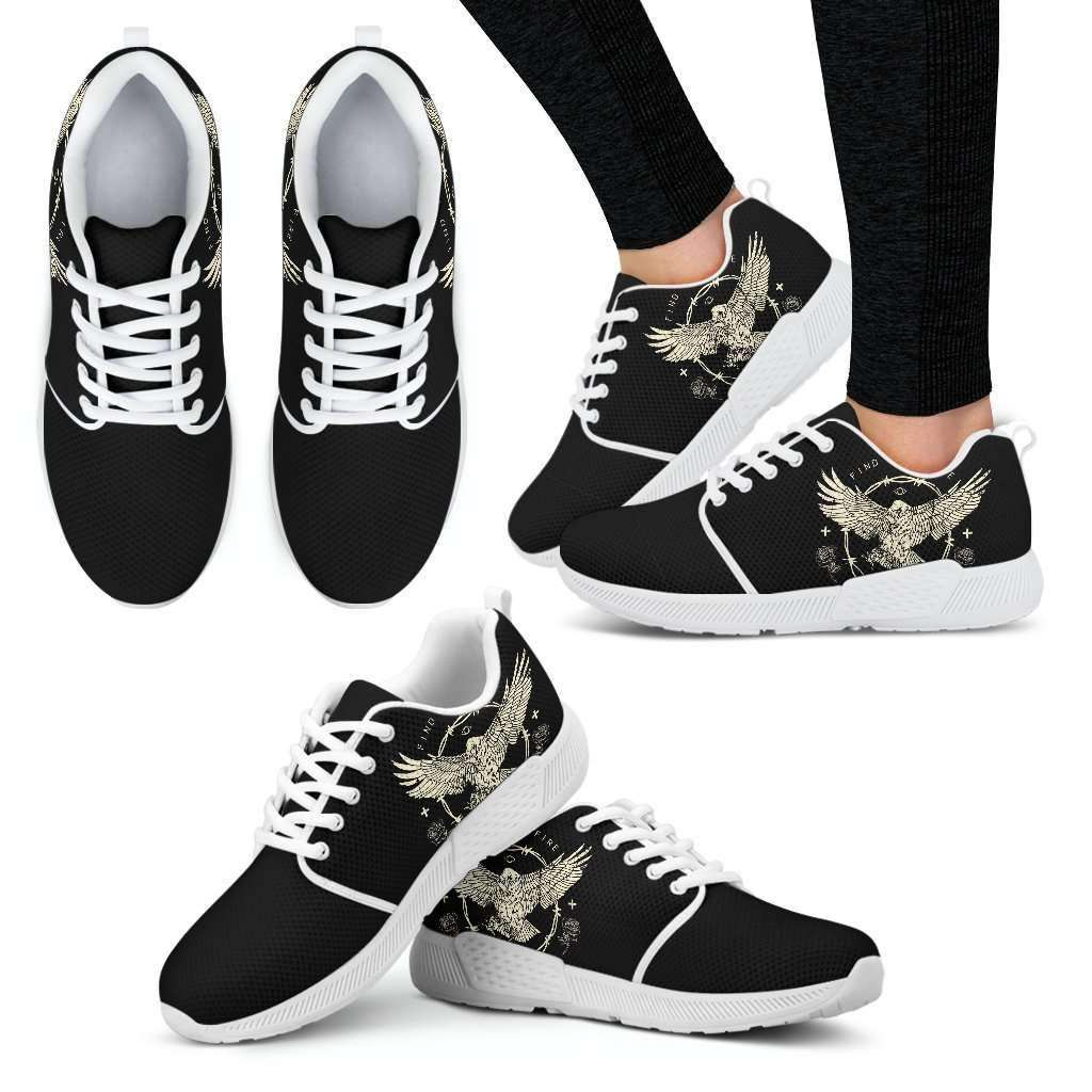 Find Your Fire Womens Athletic Sneakers