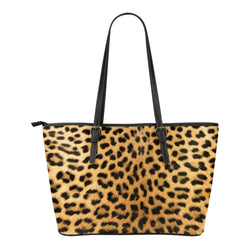 Animal Skin Texture Themed Design C4 Women Small Leather Tote Bag