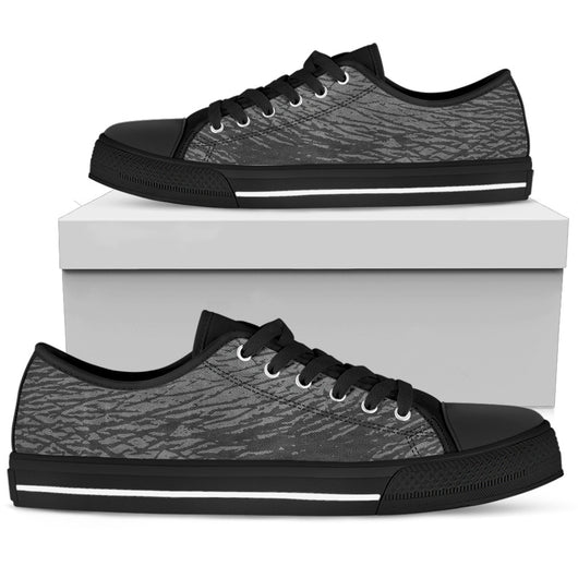 Rhino Elephant Skin Womens Low Top Shoes - STUDIO 11 COUTURE