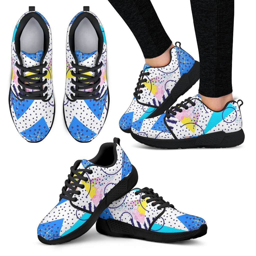 80's Fashion Womens Athletic Sneakers - STUDIO 11 COUTURE