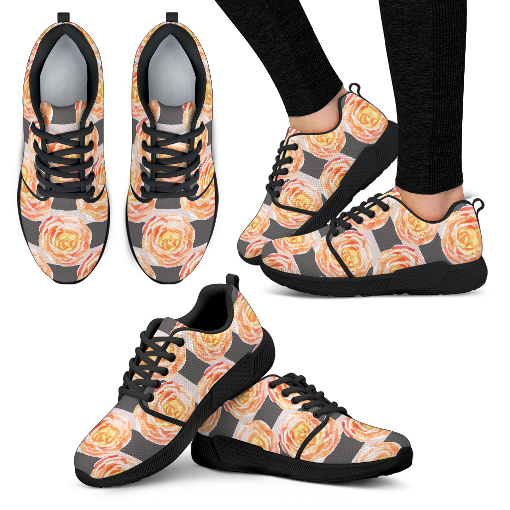 Astonishing Floral Spring Women Athletic Sneakers