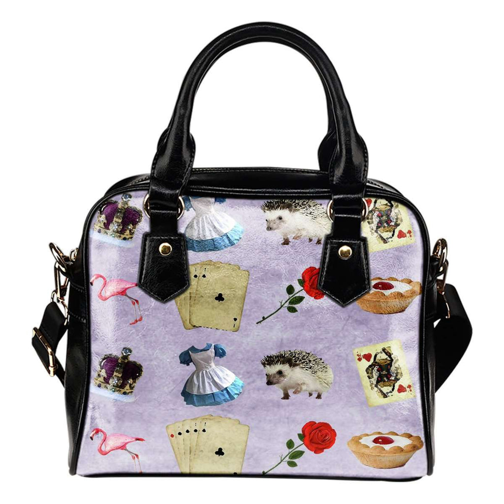 Alice In Wonderland Alice Paper 6 Shoulder Handbag - STUDIO 11 COUTURE