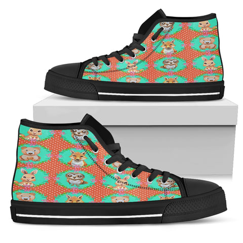 Woodland Women's High Top Shoes