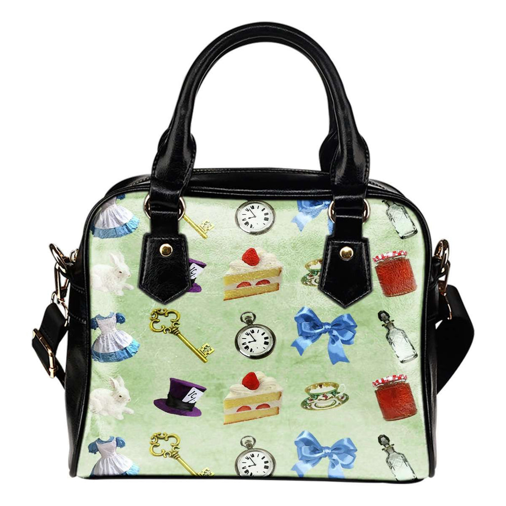 Alice In Wonderland Alice Paper 3 Shoulder Handbag - STUDIO 11 COUTURE