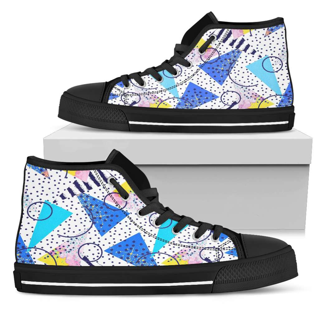 80's Fashion Womens High Top Shoes - STUDIO 11 COUTURE