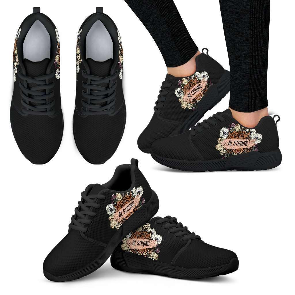 Be Strong Womens Athletic Sneakers