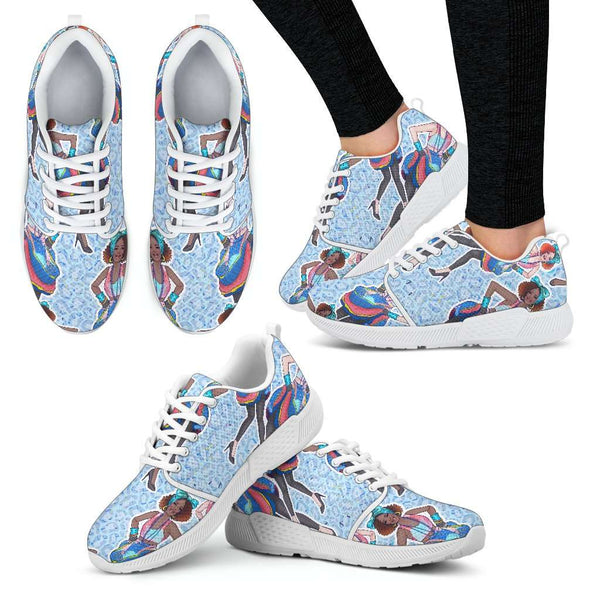 Fashion Girl Womens Athletic Sneakers