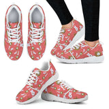 White Rabbit And Watch Womens Athletic Sneakers - STUDIO 11 COUTURE