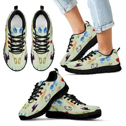 Alice In Wonderland Kids Sneakers - STUDIO 11 COUTURE