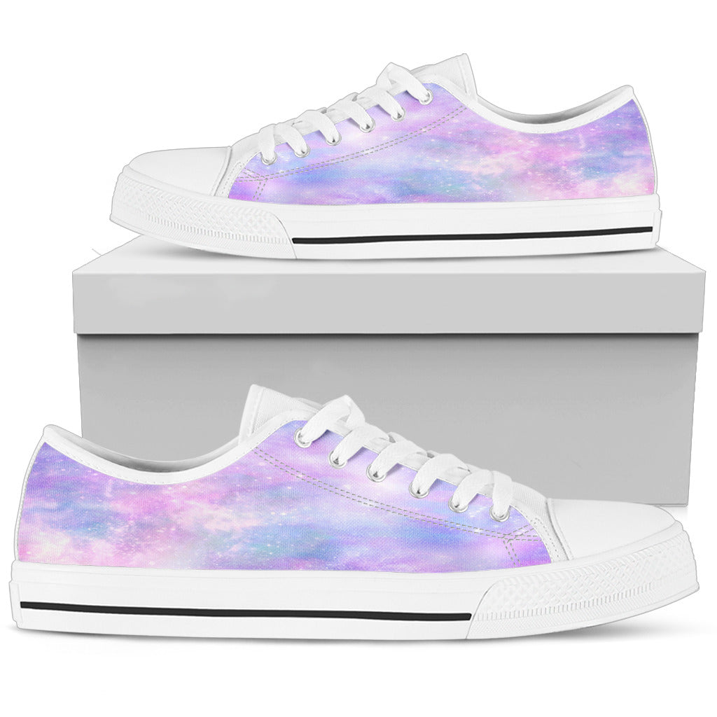 Galaxy Pastel Womens Low Top Shoes - STUDIO 11 COUTURE