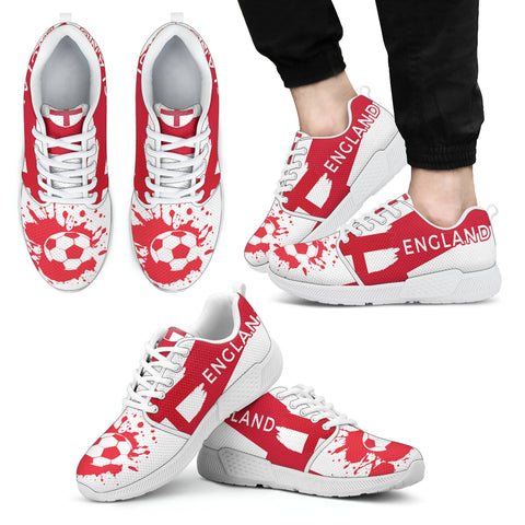 2018 FIFA World Cup England Mens Athletic Sneakers - STUDIO 11 COUTURE