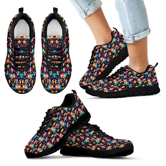Mermaid Kids Sneakers - STUDIO 11 COUTURE