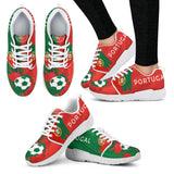 2018 FIFA World Cup Portugal Womens Athletic Sneakers - STUDIO 11 COUTURE